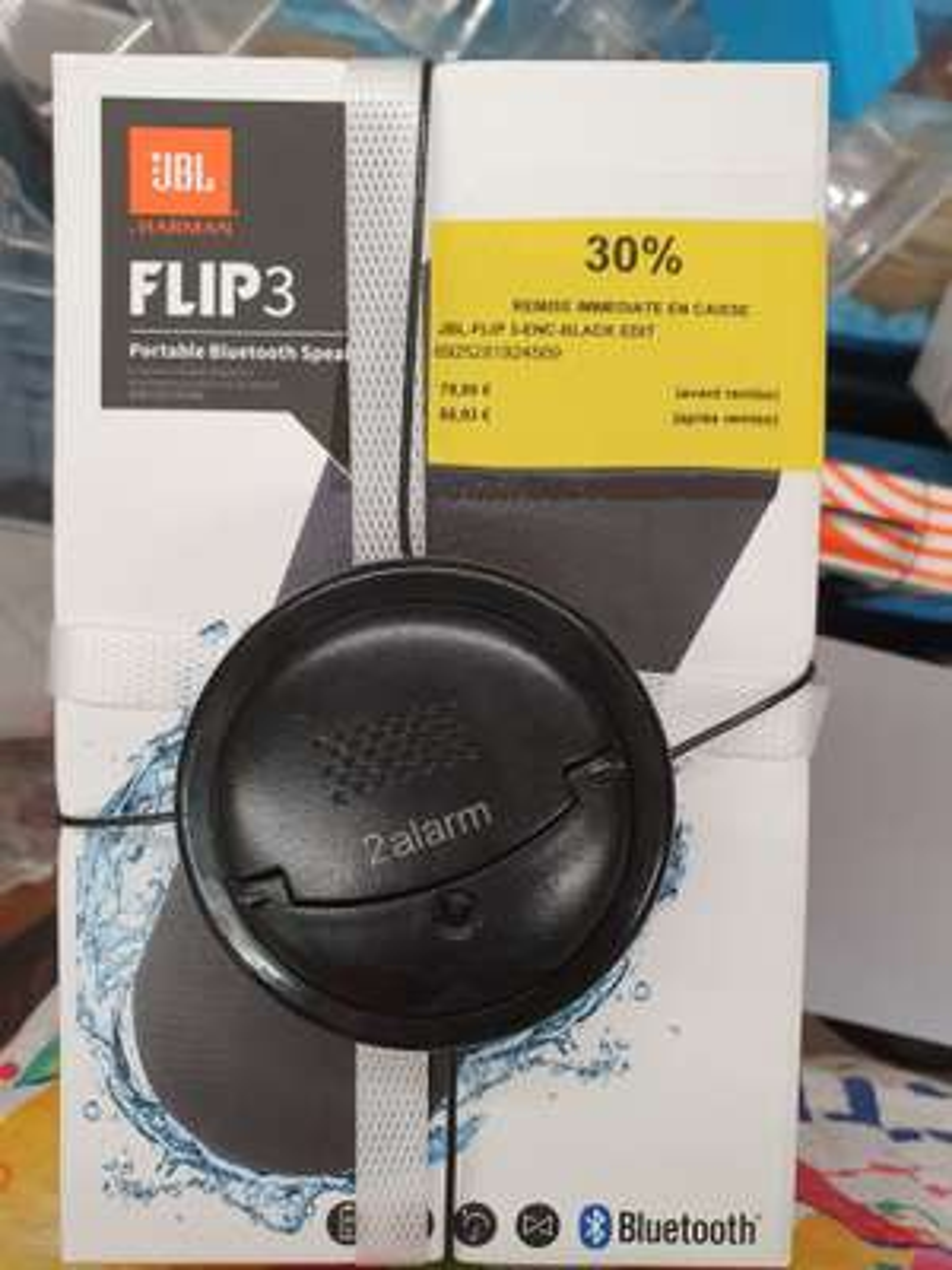 Enceinte Bluetooth JBL Flip 3 Flip 3 Édition Stealth Noir - Sannois (95)