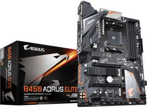 Carte mère GigaByte B450 Aorus Elite - socket AM4
