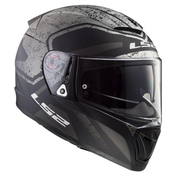 Casque moto intégral  LS2  Breaker Bold - KPA, Kevlar polycarbonate, Pinlock (taille M, L et XL)   + Cagoule à partir de