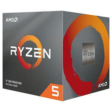 Processeur AMD Ryzen 5 3600 - Socket AM4 (Frontaliers Suisse)