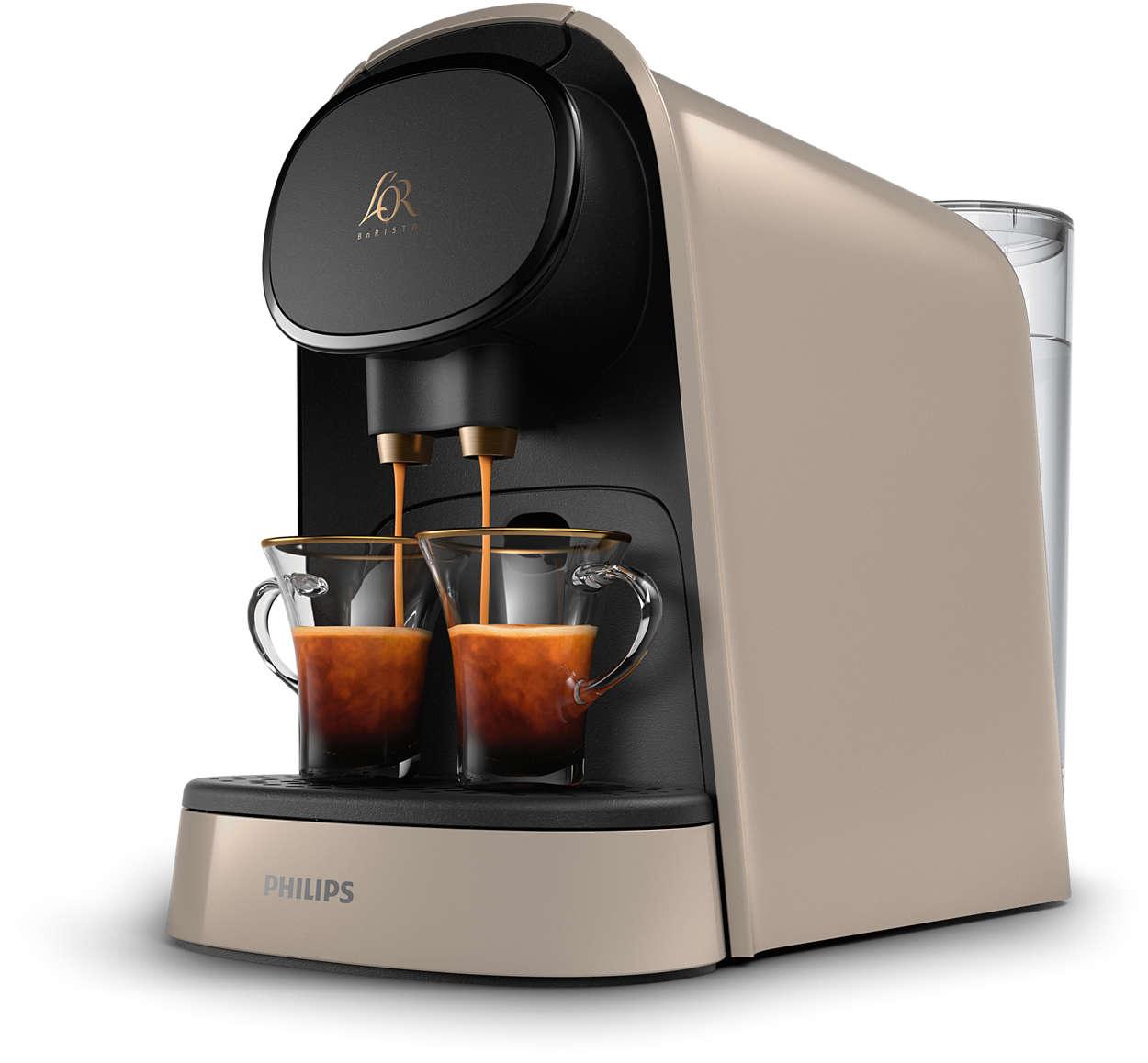 Machine à café l'Or Barista  (Plusieurs coloris) + 200 capsules au choix