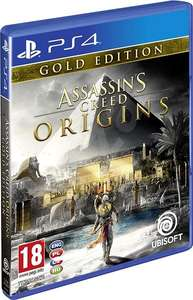 Jeu Assassin's Creed Origins sur PS4 Édition Gold (Boite UK - Jeu FR) + 0.99€ en SuperPoints