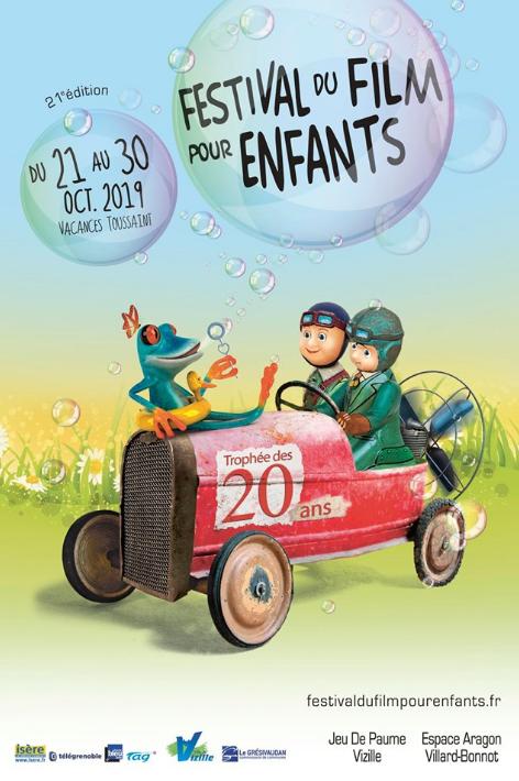 Billet Adulte pour Festival du film pour Enfants - Du lundi 21 au mercredi 30 octobre 2019 (Vizille 38)