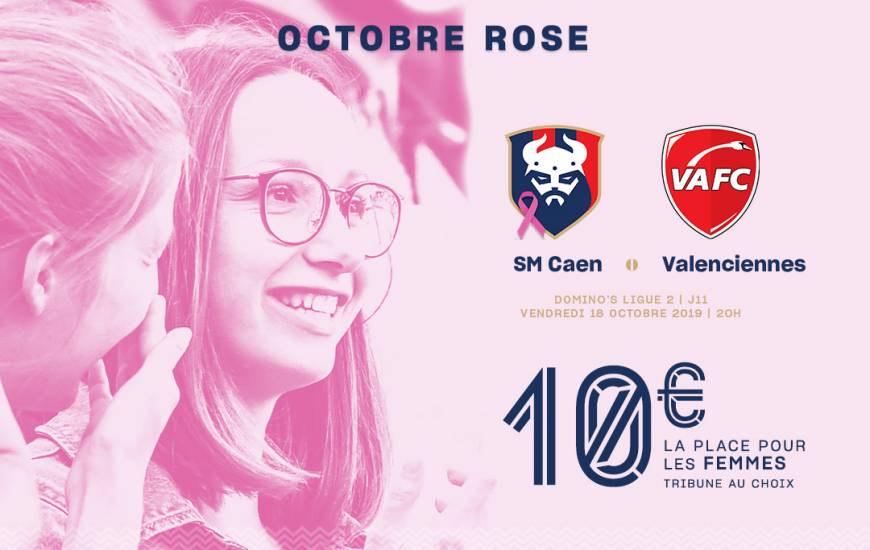 Place pour le Match de Football Caen-Valenciennes au Stade Michel-d'Ornano le 18 octobre