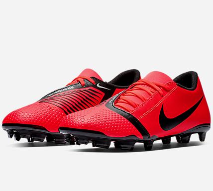 Chaussures de football Nike Phantom Venom Club FG - Rouge