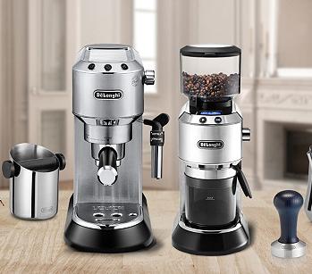 Machine expresso Delonghi ECKG6821.M + Moulin à café +  3 Accessoires