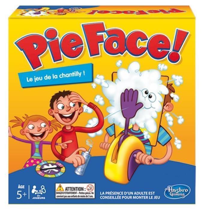 Jeu Hasbro Pie Face B70631010 - Le Jeu De La Chantilly + Tube de Chantilly