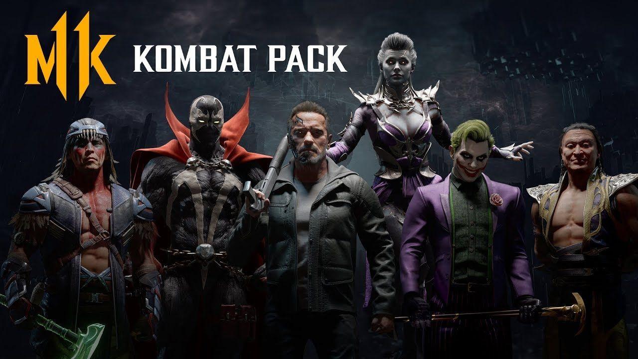 DLC Mortal Kombat11: Kombat Pack sur PS4 (Dématérialisé)
