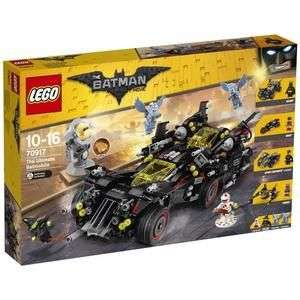 Jeu de Construction LEGO Batman Movie - La Batmobile suprême - 70917