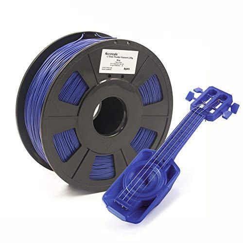Filament flexible Weistek en TPU - 1Kg, Bleu foncé (Vendeur tiers)