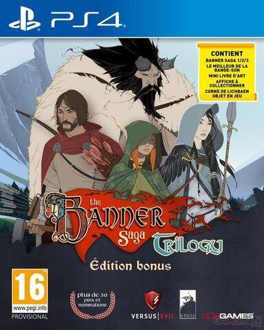 The Banner Saga Trilogy Edition Bonus sur PS4
