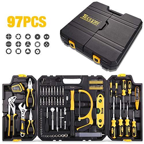 Mallette d'outils Teccpo THTC02H - 97 pièces (vendeur tiers)