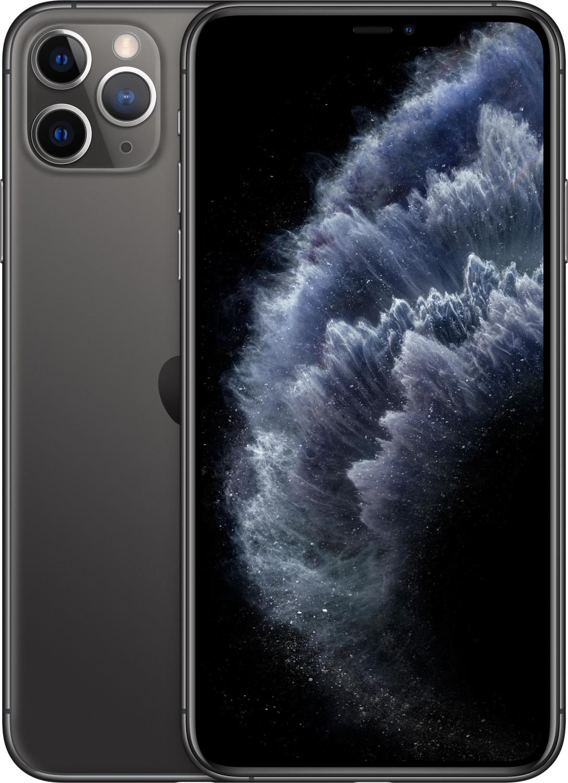 "Smartphone 6.5"" Apple iPhone 11 Pro Max - A13, 4 Go de RAM, 64 Go, noir (vendeur tiers)"