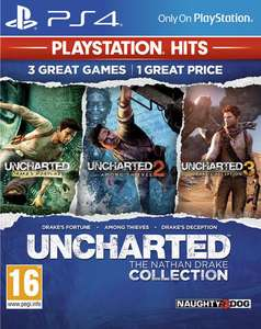 Uncharted : The Nathan Drake Collection sur PS4 (via l'Application)
