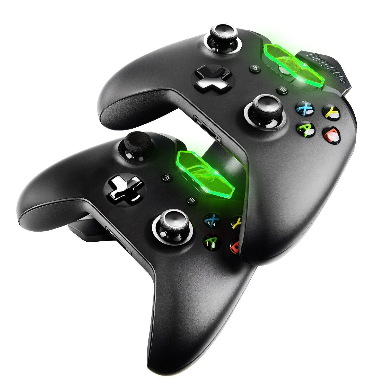 Station de recharge Energizer pour 2 manettes Xbox One (batteries comprises)