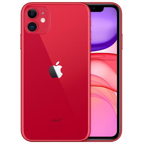 "Smartphone 6.1"" Apple iPhone 11 (Rouge ou Blanc) - A13, RAM 4 Go, ROM 64 Go (+ 200€ en SuperPoints via Paylib)"