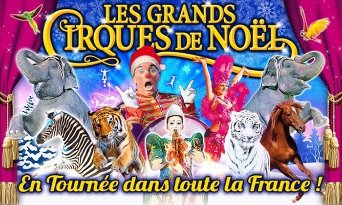 Place en tribune d'honneur, Cirque Medrano, valable dans 10 villes jusqu'au 5 janv. 2020 - Ex : Les stars du cirque et de la glace, Nantes