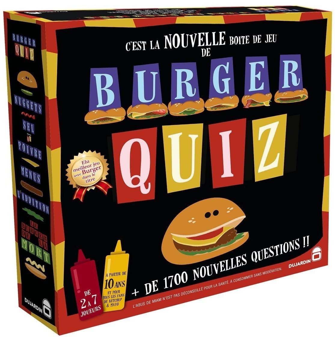Jeu de société Dujardin Burger Quiz (via 5€ sur la carte de fidélité)