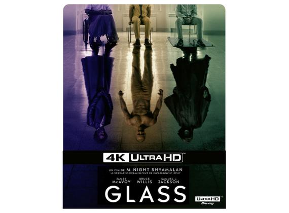 Blu-ray 4K steelbook + blu-ray Glass