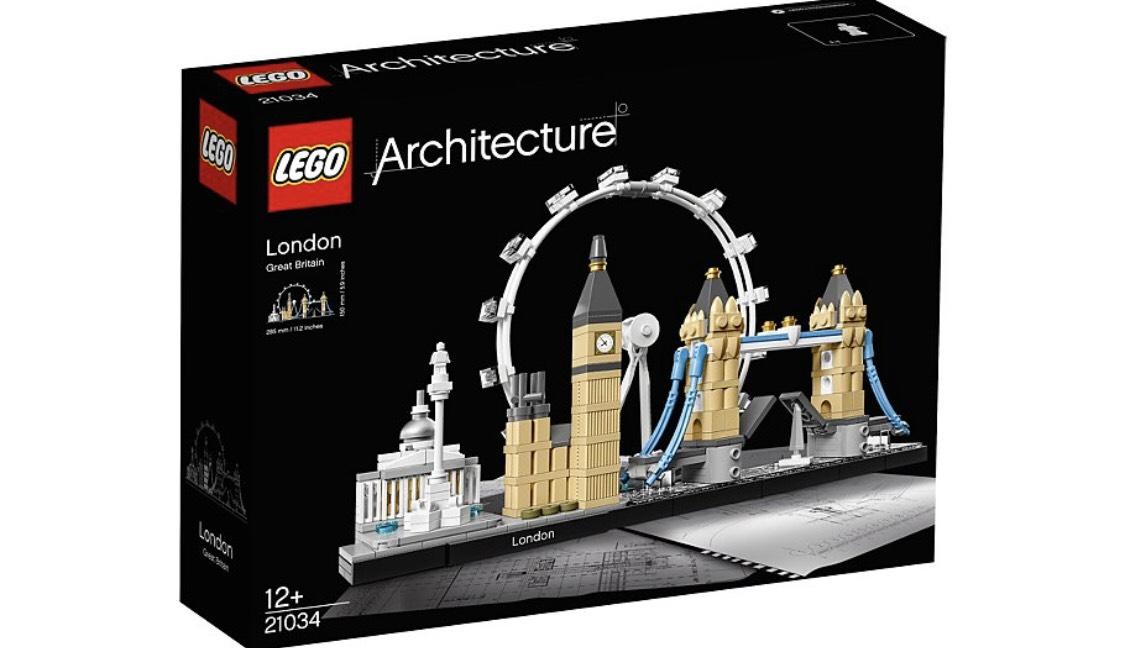 Jeu de construction Lego Architecture Londres - 21034