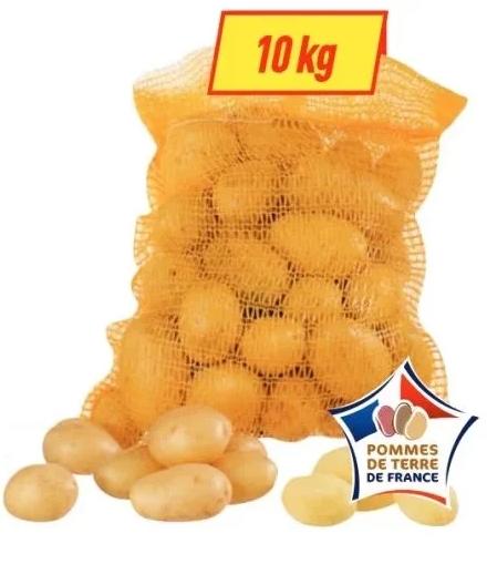 Filet de 10 kg de pommes de terre de consommation - Origine France