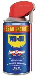 Dégrippant/lubrifiant multifonction WD-40 - 275 ml (via 2,45 € sur la carte fidélité)