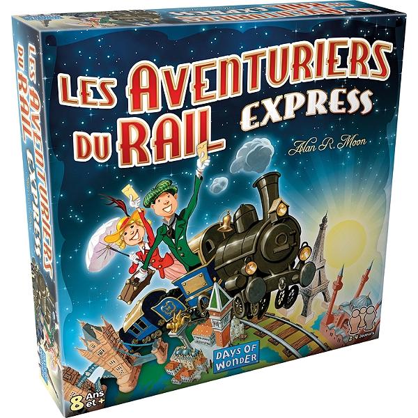 Jeu de société Days of Wonder Les Aventuriers du Rail Express (via 6€ sur la carte de fidélité)