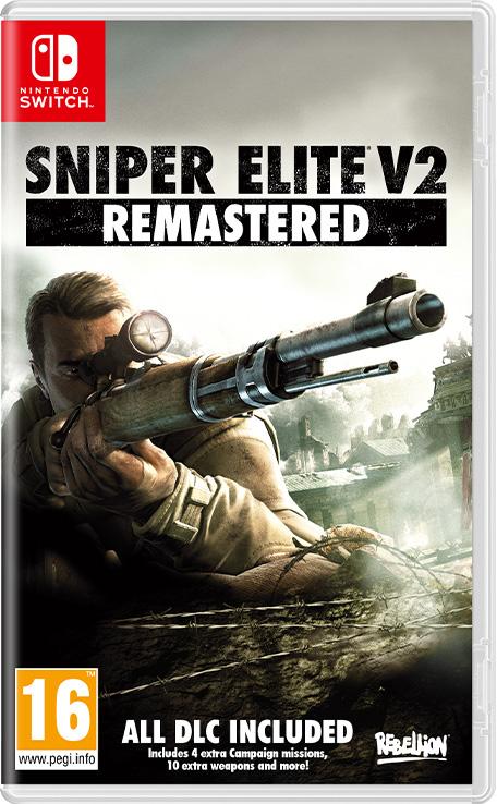 Sniper Elite V2 Remastered sur Nintendo Switch (Dématérialisé)