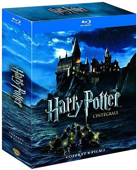 Coffret Blu-Ray Harry Potter Le monde des Sorciers de J.K. Rowling - L'Intégrale des 8 Films
