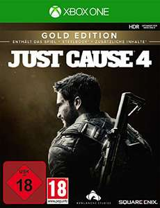 Just cause 4 Gold Edition sur Xbox One et PS4 (Import Allemagne)