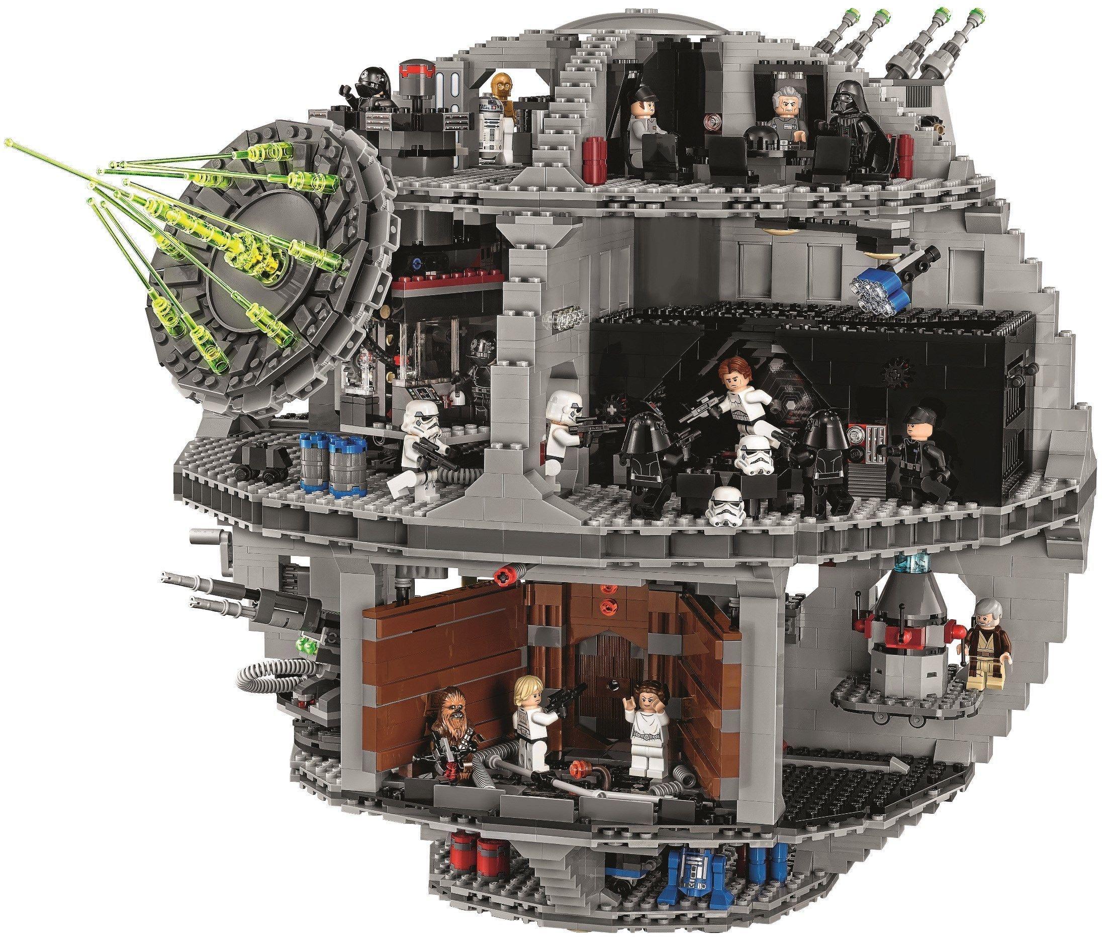 Jeu de construction Lego Star Wars Death Star - Étoile Noire de la Mort (75159)