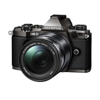 Kit appareil photo hybride Olympus OM-D E-M5 Mark II Titane + Objectif zoom 14-150 mm (Vendeur tiers) - Capteur 16 MP