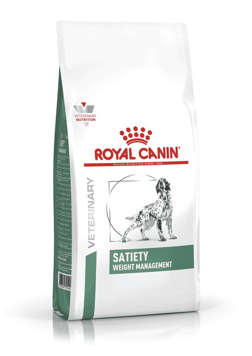 Sac de croquettes pour chien Royal Canin Satiety Weight Management - 6Kg (vetostore.com)