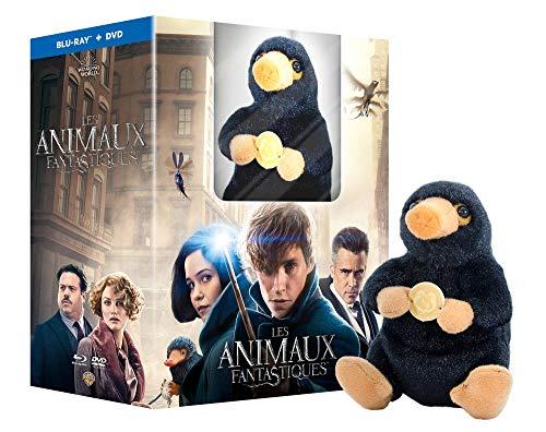 Les Animaux Fantastiques avec peluche Niffleur - Le monde des Sorciers de J.K. Rowling - Blu-Ray + DVD + Peluche (vendeur tiers)