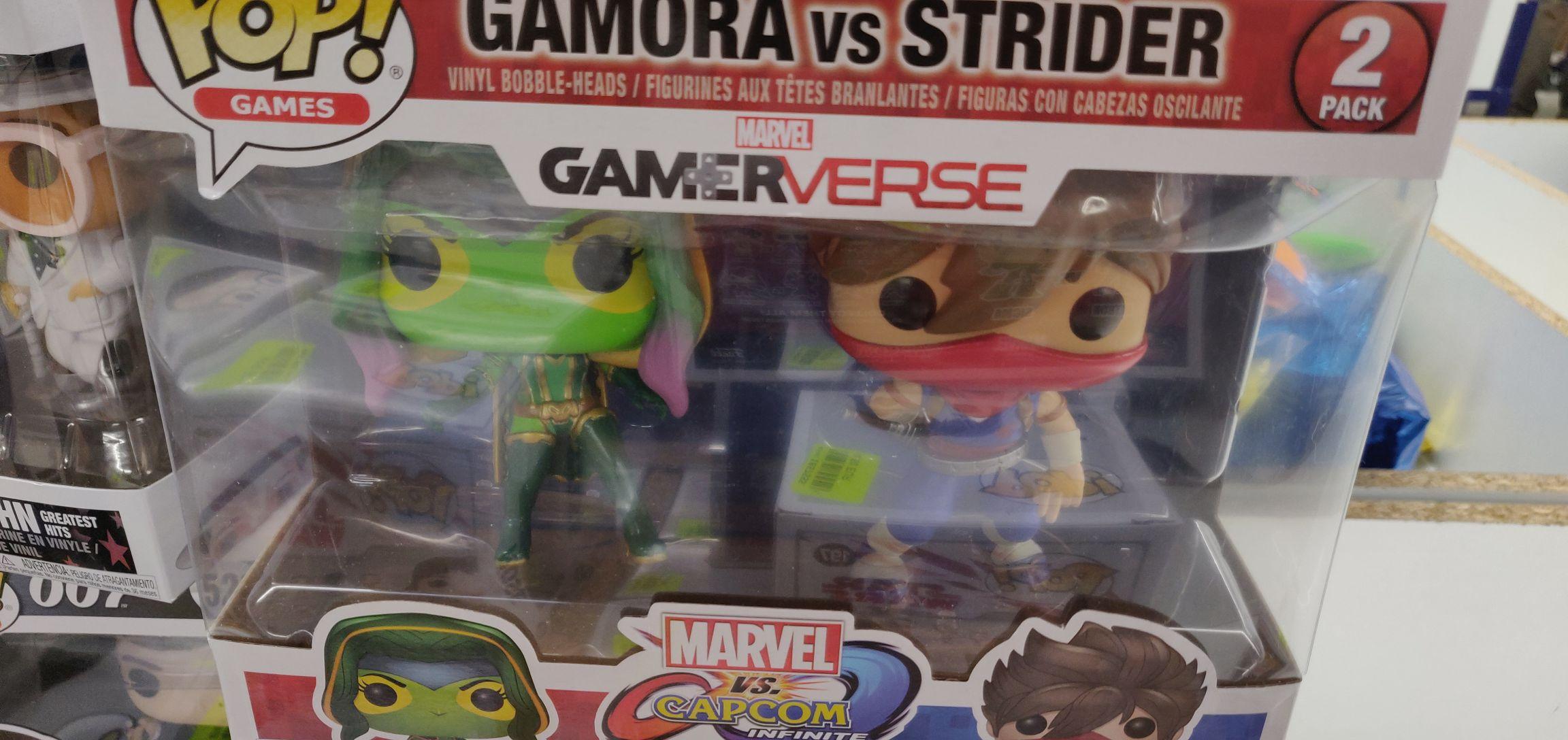 Pack de 2 Figurines Funko Pop! Marvel: Gamora vs Strider (Redon 35)