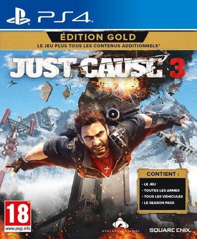 Jeu Just Cause 3 : Gold Edition sur PS4