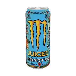 Canette de Monster Energy - Mango Loco, 0,5L