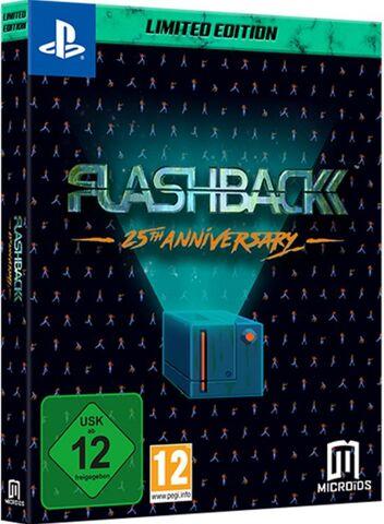 Jeu Flashback 25th anniversary sur PS4