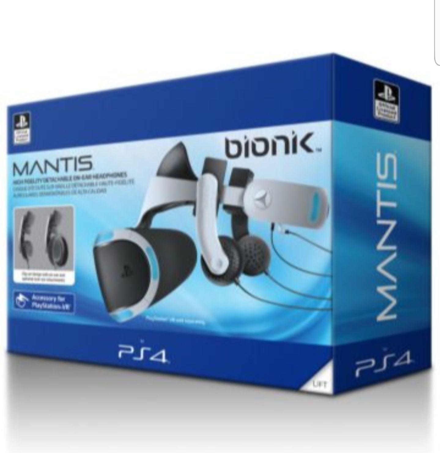 Casque audio Bionik pour Playstation VR Core