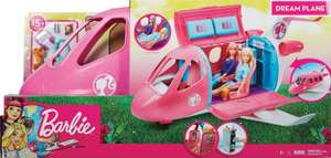 Barbie avion de rêve (via 34,95€ sur la carte)