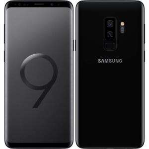"""Smartphone 6.2"""" Samsung Galaxy S9 Plus - 64 Go - Noir (Reconditionné - Très bon)"""