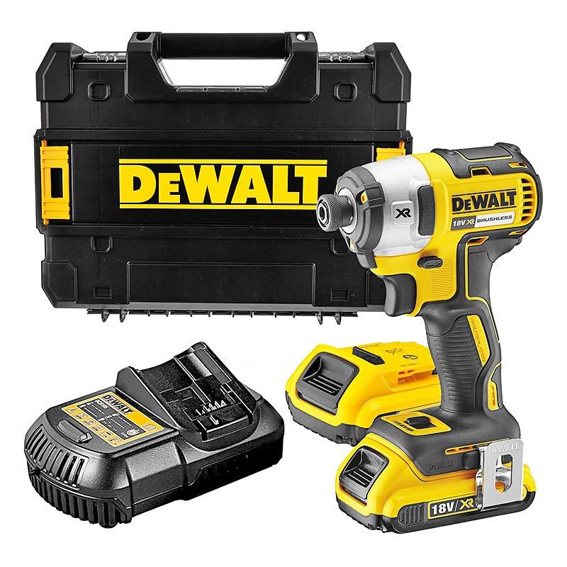 Visseuse à Chocs DEWALT DCF887D2 - 18 V, 2 Batteries 2Ah Li-ion