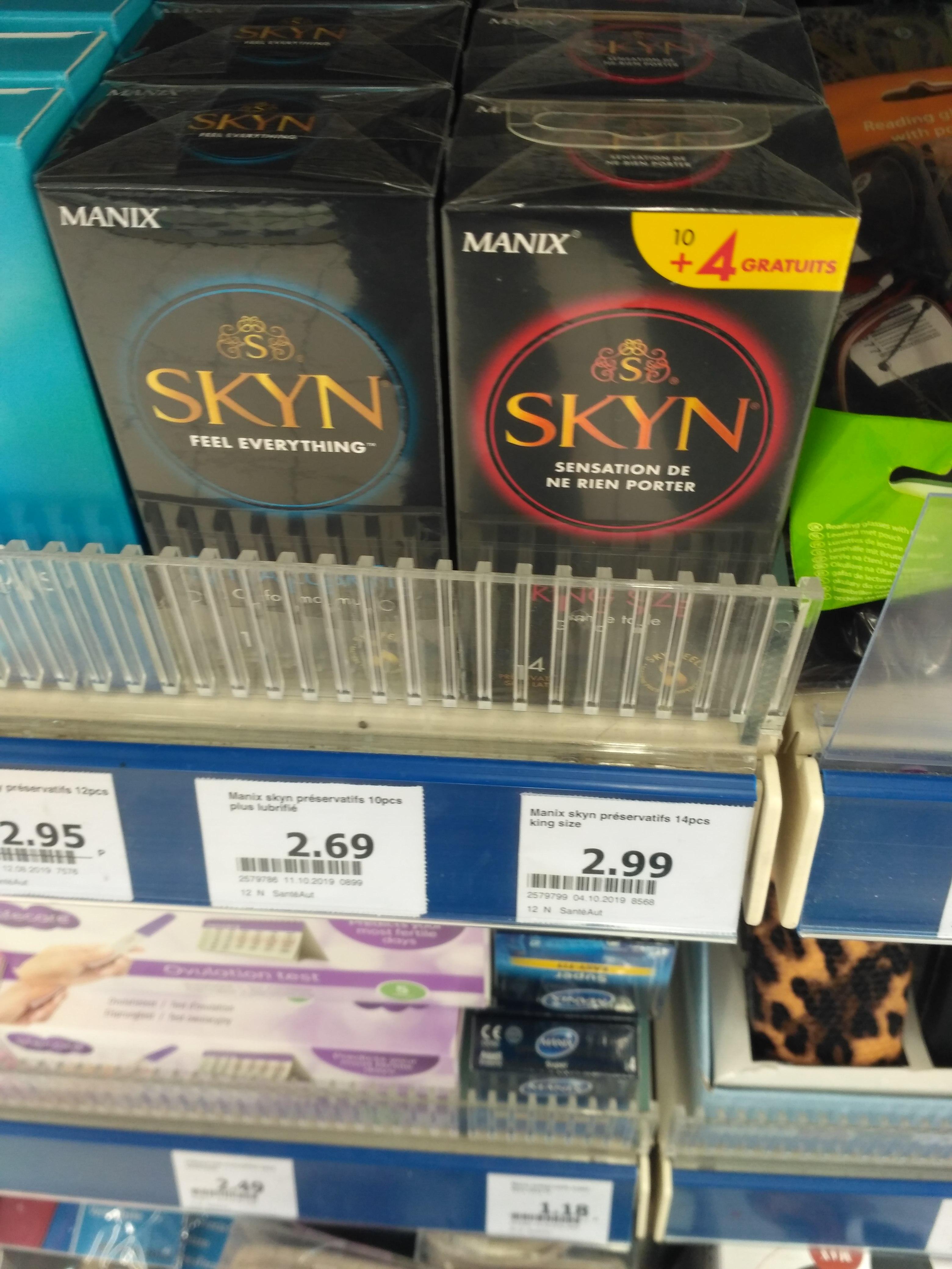 Boite de 14 preservatifs Skyn King Size - Vitré (35)
