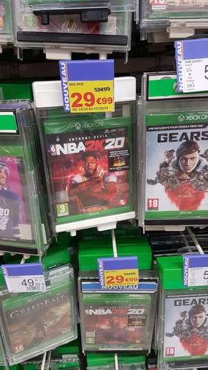 NBA 2K20 sur PS4 ou Xbox One - Epagny (74)