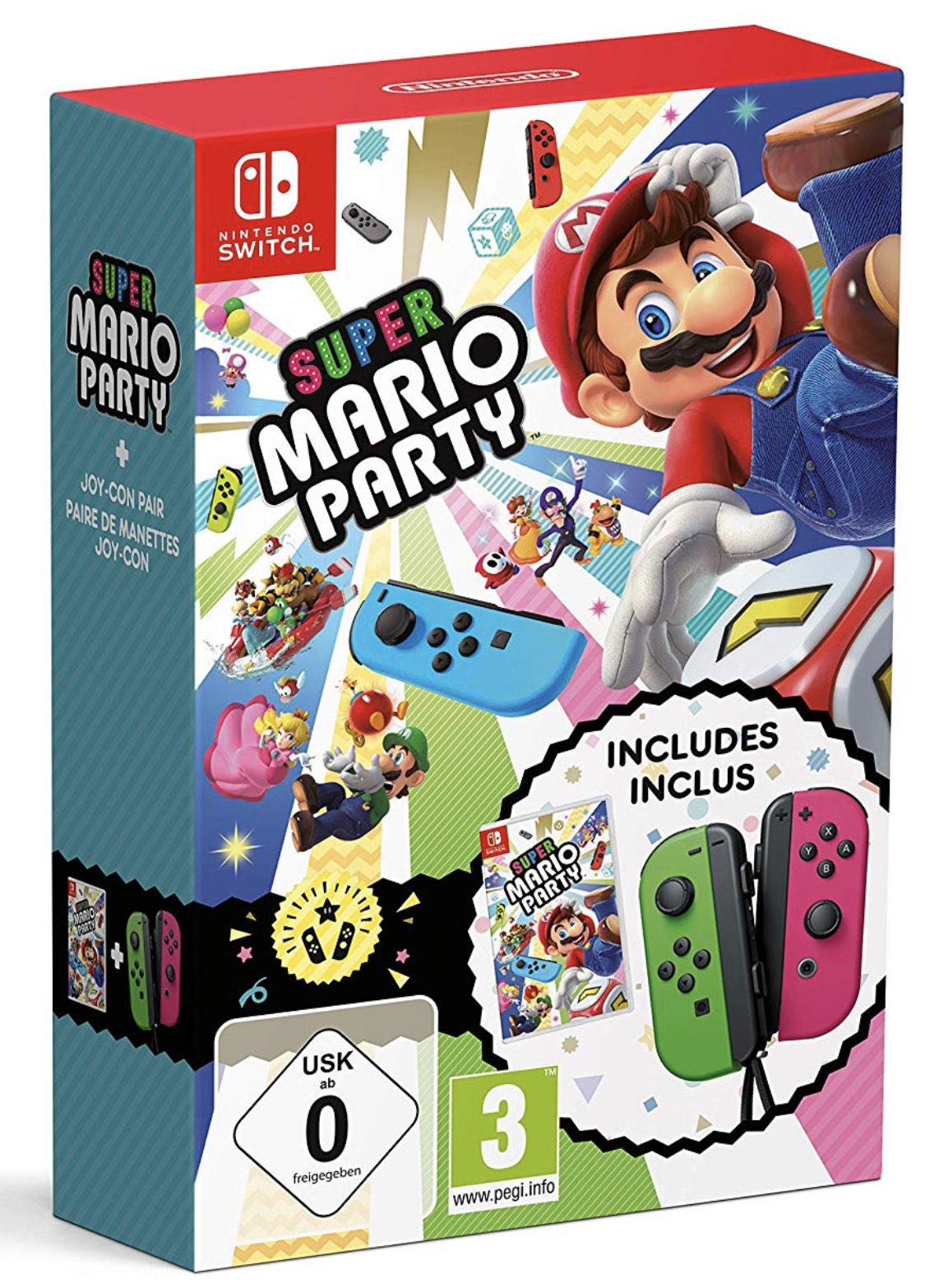 Pack collector Super Mario Party sur Nintendo Switch (Jeu + Paire de Joycons)