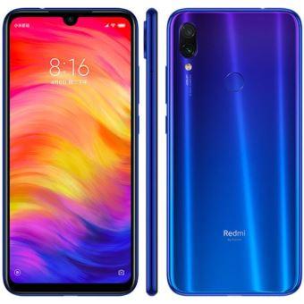"Smartphone 6.3"" Xiaomi Redmi Note 7 - Bleu, 4Go RAM, 64 Go ROM (Vendeur Tiers)"