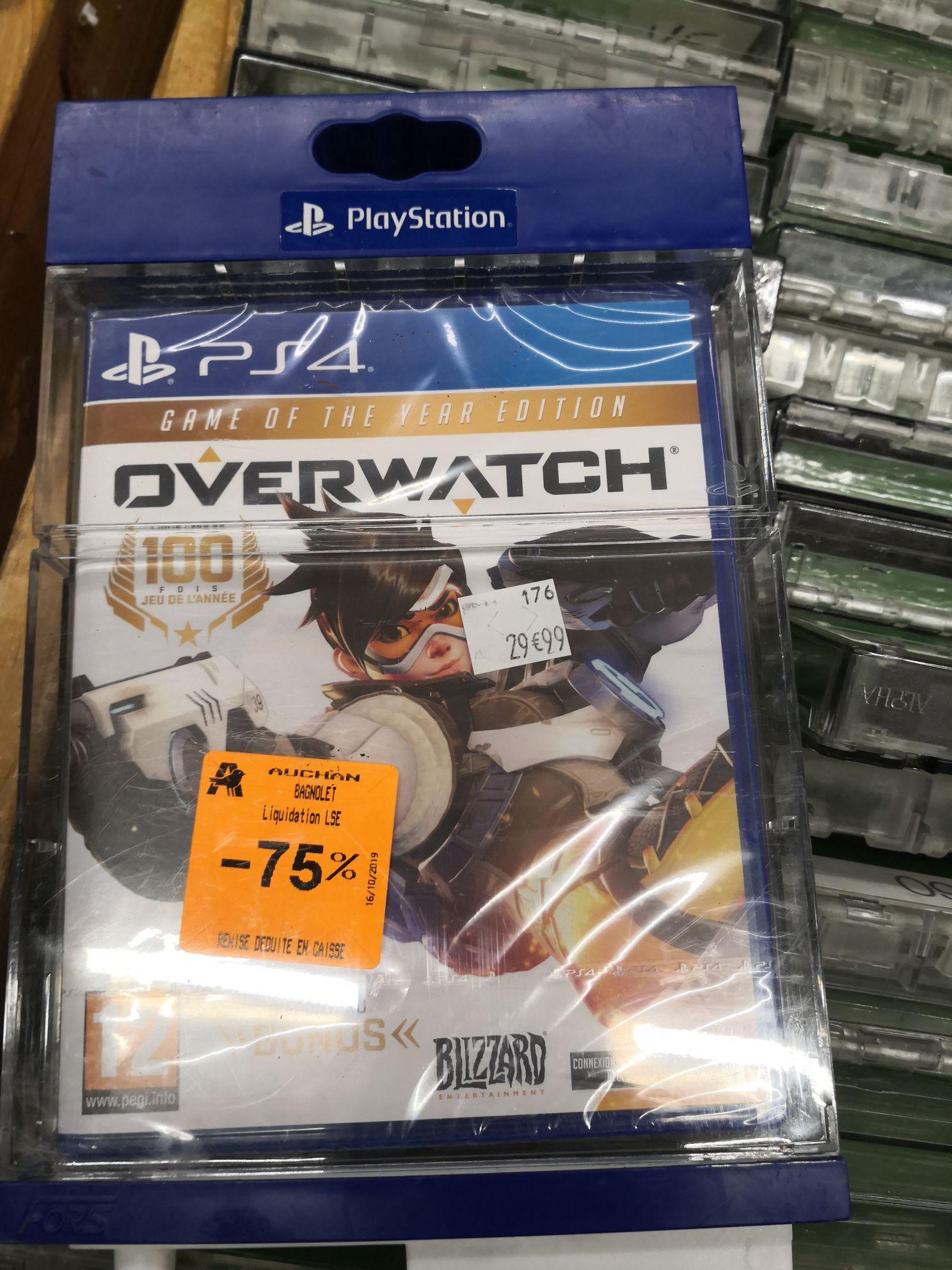 Overwatch sur PS4 - Auchan Bagnolet 93
