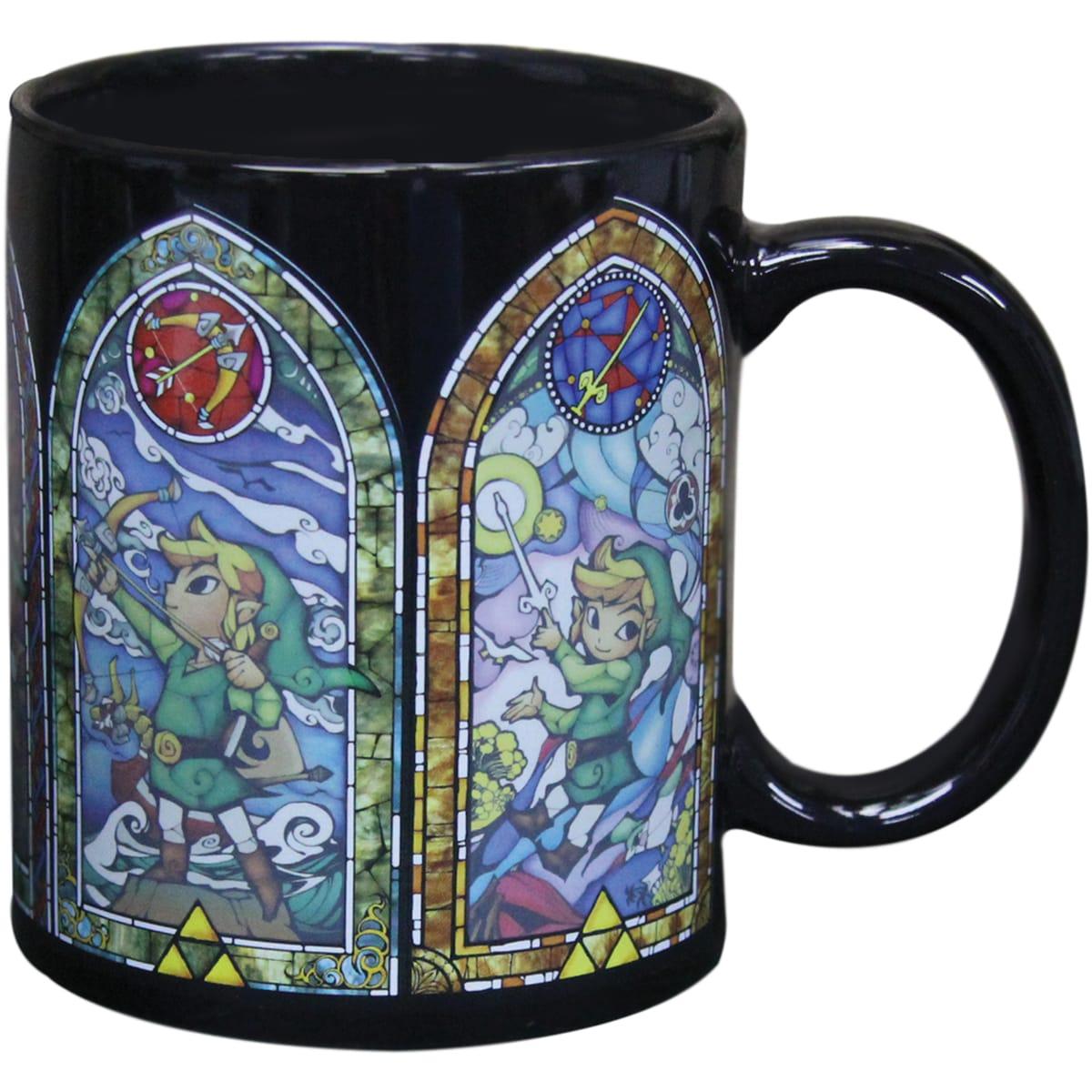 Sélection de mugs en promotion (Différentes franchises) - Ex : Mug thermo-réactif Zelda