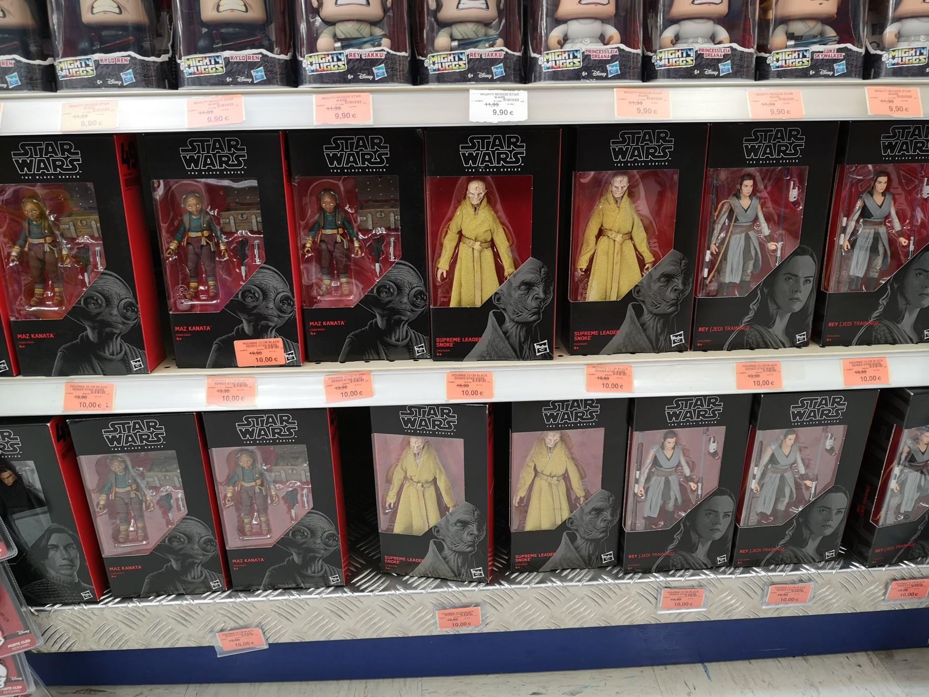 Sélection de figurines Star Wars The Black Series - Ex : Supreme Leader Snoke (PicWicToys La Chapelle-Saint-Aubin - 72)