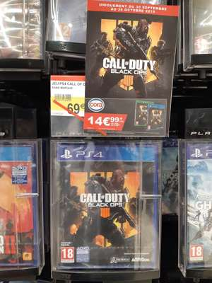 Jeu Call of Duty Black Ops 4 sur PS4 - Mundolsheim (67)